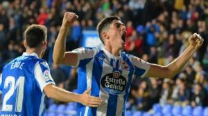O Deportivo resolve con contundencia ante o Oviedo e segue imparable (4-0)