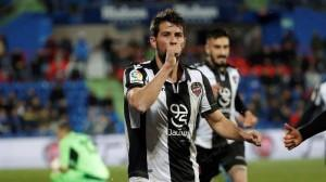 Coke osixena o Levante no encontro co Xetafe (0-1)