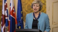 Theresa May advertiu que o 'brexit' se consumará o 29 de marzo de 2019
