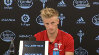 Daniel Wass, disposto a xogar de lateral co Celta