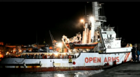 Os rescatados do Open Arms agardan destino en Lampedusa