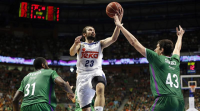 O Real Madrid gaña a Unicaja (73-76) e pasa a final da ACB