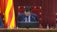 Nova advertencia do Tribunal Constitucional ao presidente do Parlamento de Cataluña