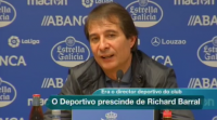 O Deportivo prescinde de Richard Barral como director deportivo