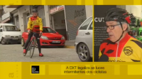 A DXT legaliza as luces intermitentes dos ciclistas