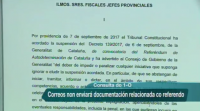 Correos non tramitará documentación relacionada co referendo do 1-O