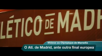 Atlético de Madrid fronte ao O. Marsella, final da Europa League
