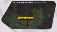 Accidente mortal de tractor en Oza-Cesuras