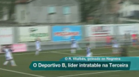 O Deportivo B, líder intratable na Terceira