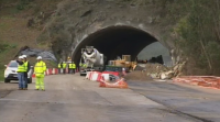 Remataron as voaduras do túnel de Montealegre, no corredor do Morrazo