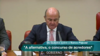 De Guindos asegura no Congreso que a alternativa á venda do Banco Popular era o concurso de acredores