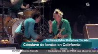 The Rolling Stones, Bob Dylan, The Who ou Paul McCartney comparten escenario en California