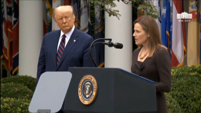 Trump designa a Amy Coney Barret como xuíza do Tribunal Supremo dos EUA