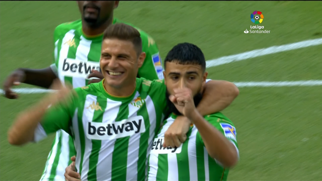 O Betis fai pleno co Valladolid (2-0)
