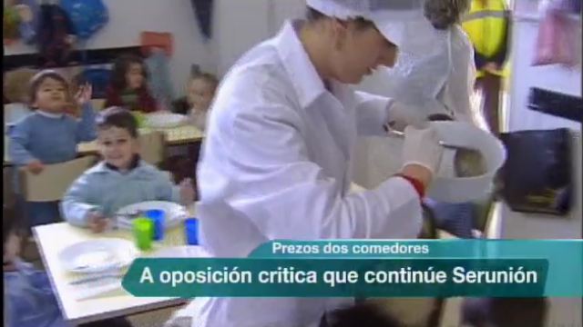 A oposición de Santiago critica a concesión da xestión dos comedores ...